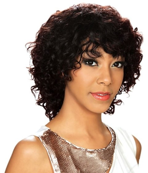 Simple Curly Hair Bob Hairstyles For Black Women
