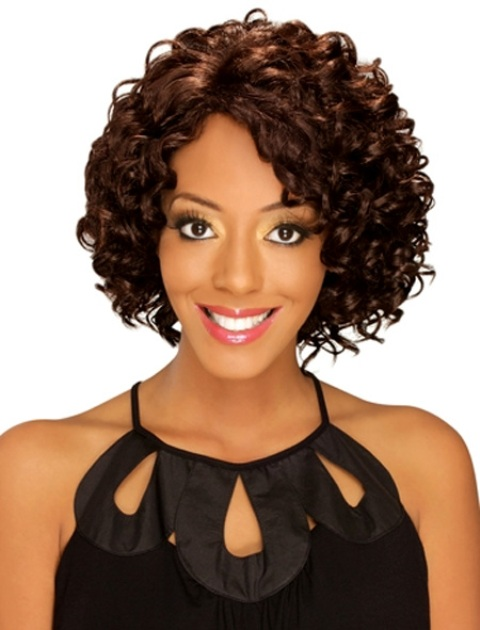 Stunning Curly Hair Bob Hairstyles For Black Women
