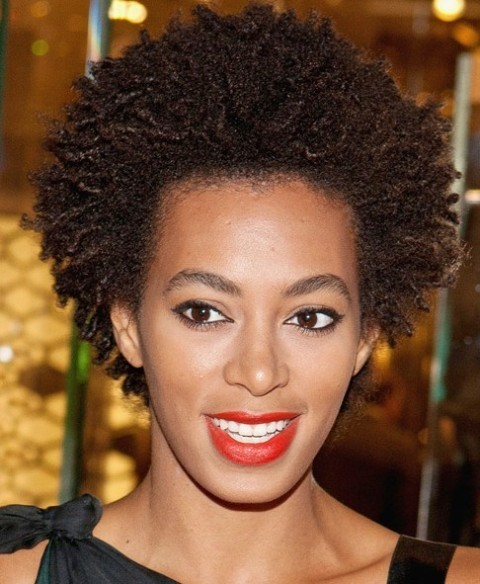 African American Natural Short Hairstyles : CircleTrest