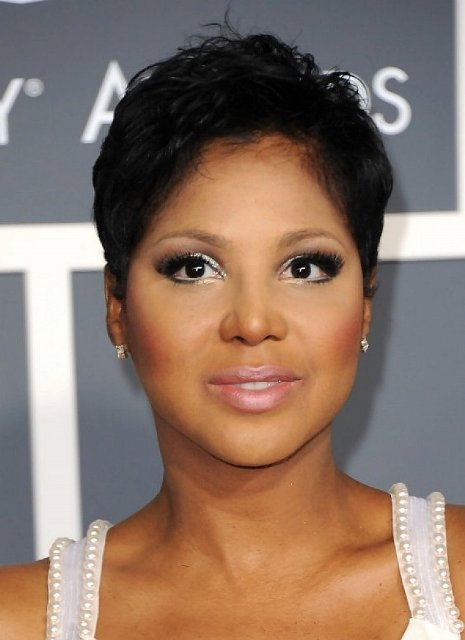 African American natural short hairstyles for round faces