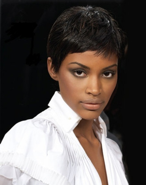 African American Natural Short Hairstyles