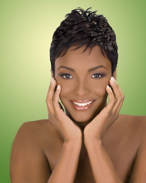 Easy African American Short Hairstyles