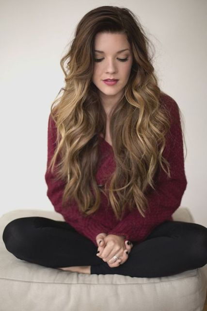 Popular Long Curly Hairstyles Circletrest