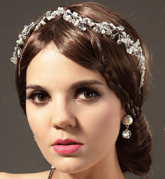 Pretty Wedding Hairstyles for Long Hair