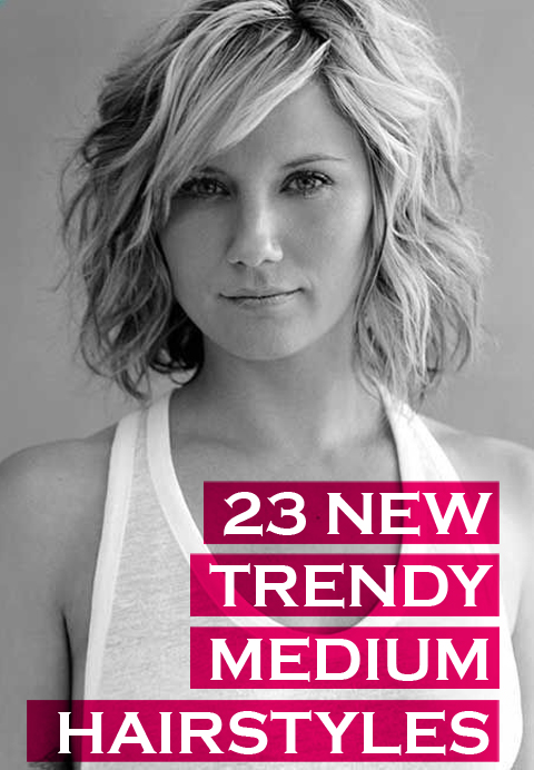 23 Trendy Medium Haircuts for Women | CircleTrest
