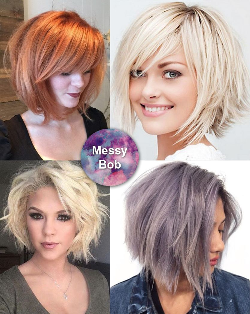 Best medium length hairstyles for thick hair circletrest messy bob for thick hair winobraniefo Choice Image
