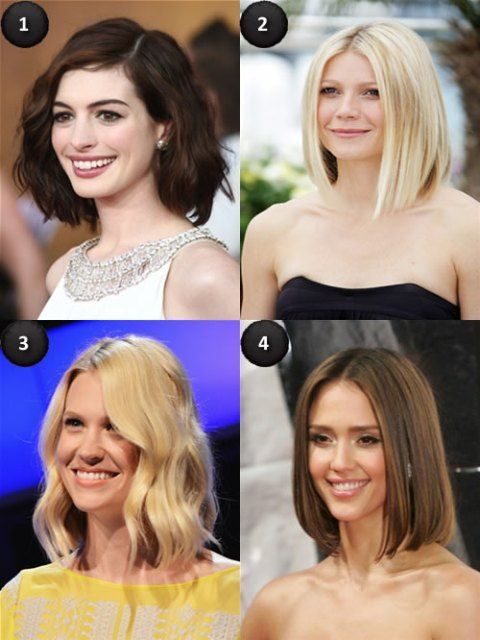 Celebrity Lob (Long Bob) hairstyle