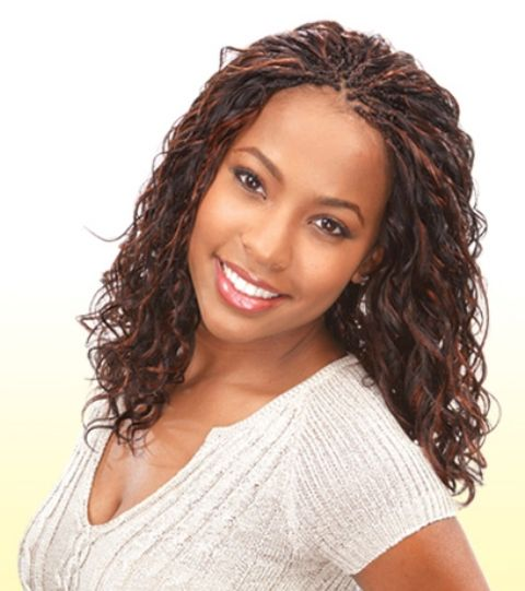 Protective braided hairstyles for black women