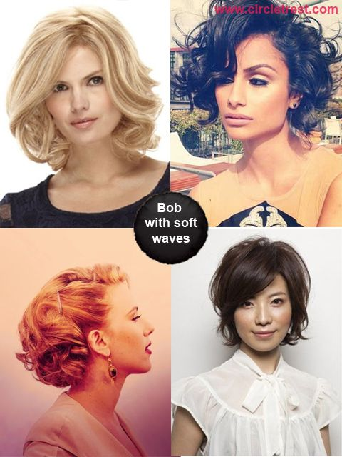 Bob Hairstyles with soft waves