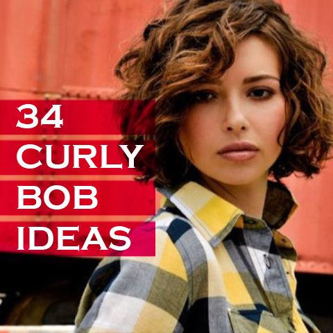 34 Curly Bob Ideas