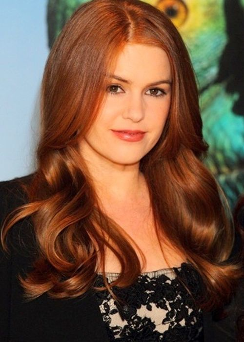Medium ginger auburn - Isla Fisher