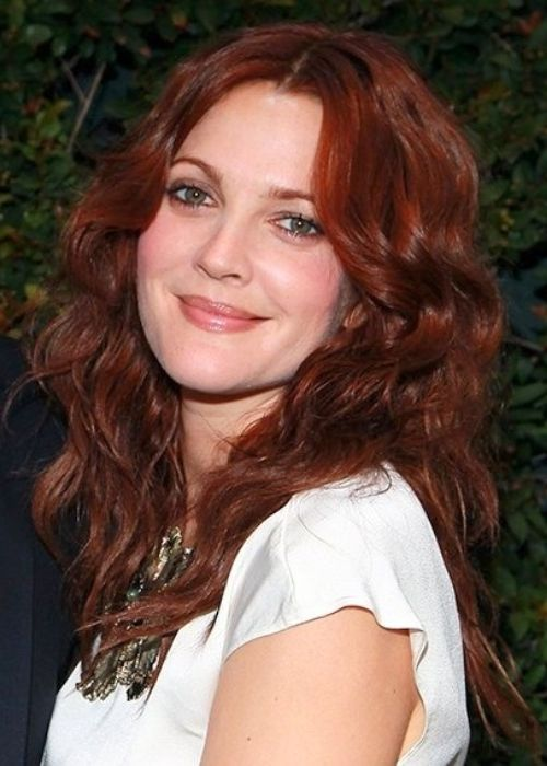 Medium red auburn - Drew Barrymore