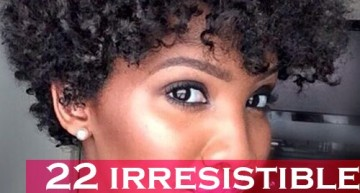 "22 Irresistible Tapered Afro Hairstyles That Make You Say ""Wow!"""