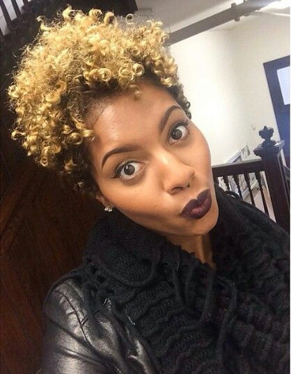22 Irresistible Tapered Afro Hairstyles That Make You Say