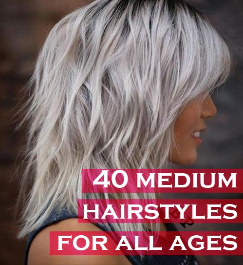 40 Trendy Medium Hairstyles For Women Of All Ages