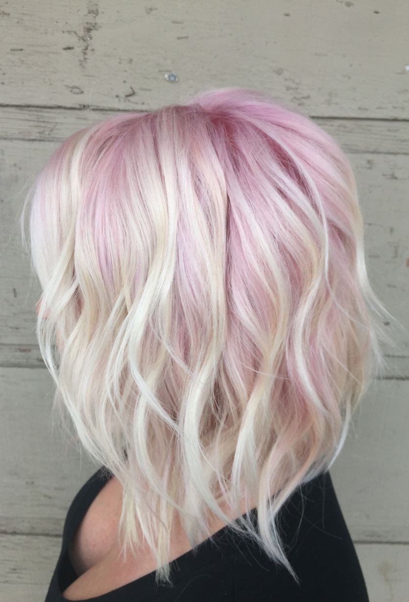 15 Ways To Add Bright Color To Your A Line Bob Haircut Circletrest