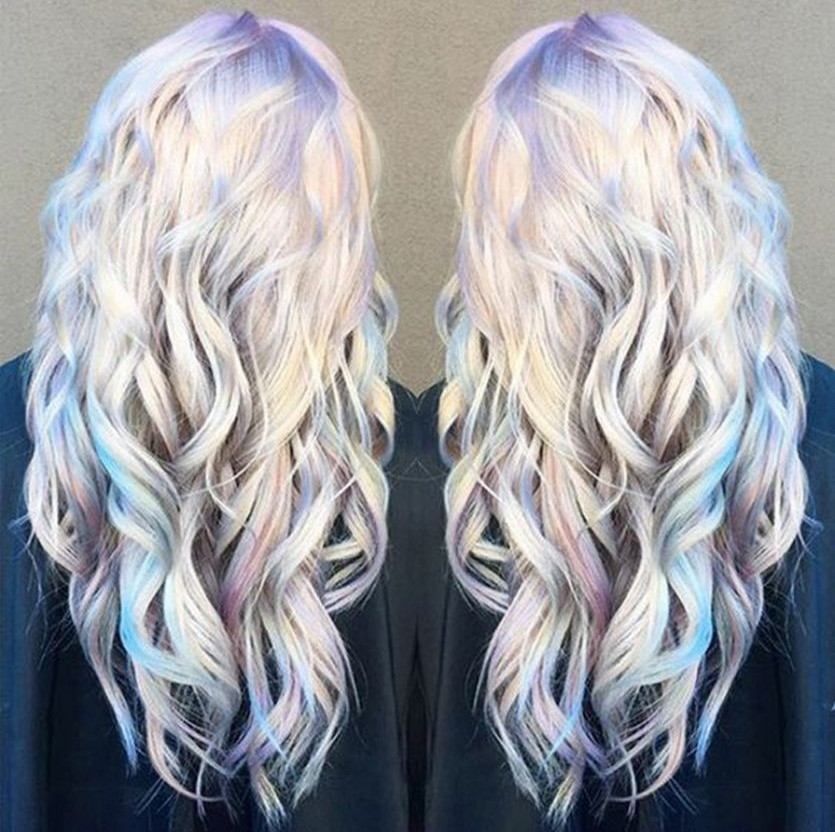 Holographic Hair The Hottest New Hair Color Trend